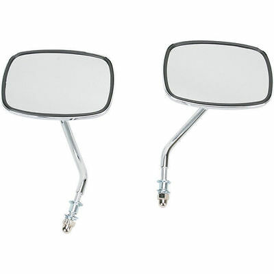 Pair Of Short Stem Stock Style Mirrors For Harley-Davidson • 27.66£