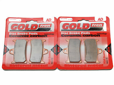 Goldfren Brake Pads Front For Yamaha MT-09 ABS MT850-A 847cc 3 Cyl 2017-2019 • 23.90£