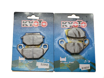 """Kyoto Brake Pads Front & Rear For Kymco Agility 125 C20000 16"""" Wheels 2008-2015 • 13.90£"""