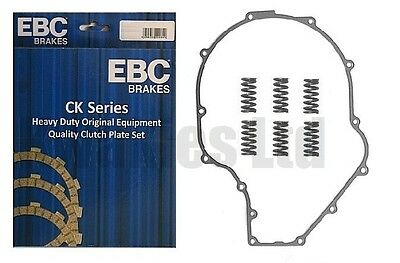 EBC Clutch Plates, Springs Cover Gasket For Kawasaki ZZR1200 C1H / C2H 2002-2004 • 81.67£