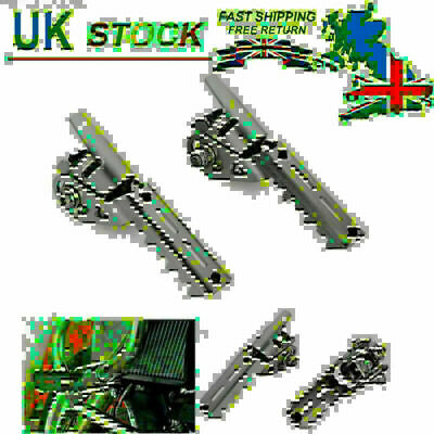UK Stock 25mm Highway Pegs Pipes Triumph Tiger Explorer For BMW R1200GS LC 13-17 • 43.78£