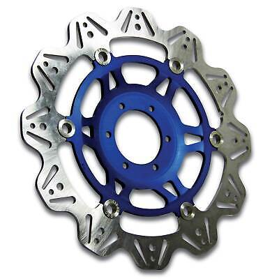 EBC Front Blue Vee Rotor Brake Disc For Triumph 2000 Sprint RS (955) • 140£