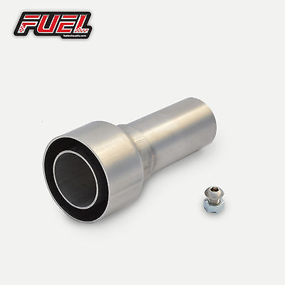 Removable Baffle Decibel / DB Killer For 51mm / 2  I.D Straight Outlet Exhausts • 20.99£