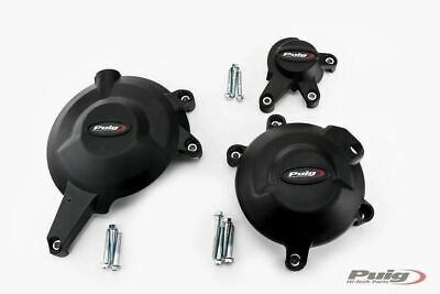 Kawasaki Er-6n 2006 - 2016 Puig Engine Casing Crash Protective Covers M20134n • 136£