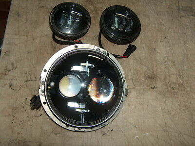 Genuine Harley Touring 7  Daymaker Head Light Lamp & Auxiliary Lights • 292.42£