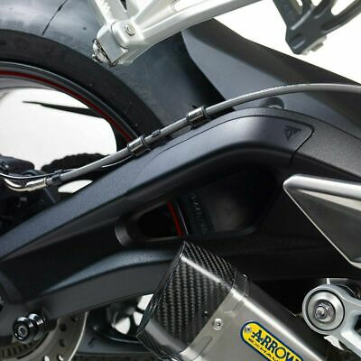 GENUINE TRIUMPH STREET TRIPLE RS R S A2 765cc SWING ARM  PROTECTION KIT A9640188 • 54£