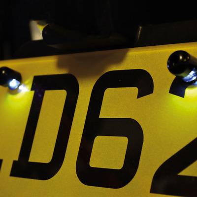 Oxford Motorcycle Number Plate Light - LED Halobolts (OX111) • 14.99£