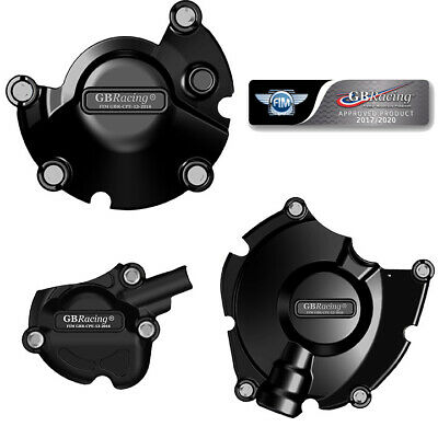 Yamaha YZF R1 & R1M 2015 2016 2017 2018 2019 GB Racing Engine Case Cover Set • 181.77£