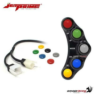 Handlebar Switches JetPrime Plug&play RACE 5 Button Left For Aprilia RSV4 2010 • 265£