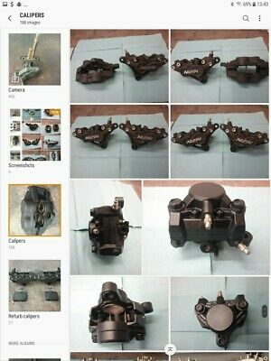 Kawasaki ZZR ZX6R ZX7R ZX9R ZX10R Z Front Calipers Reconditioned Service • 100£