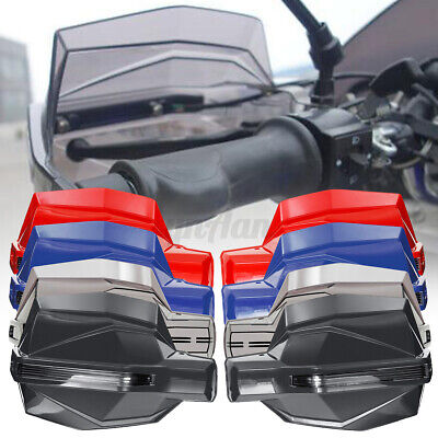 2x 7/8'' 22mm Motorcycle Scooter HandGuard Handlebar Covers Protector   • 15.78£
