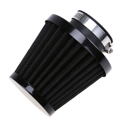 4X 35mm Engine Air Filter Cold Intake Motorcycle Scooter Pod Cone Cleaner  ATV • 23.99£