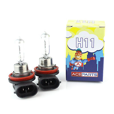 2x H11 [711] 55w Clear Xenon Headlight Bulbs 12v • 6.55£