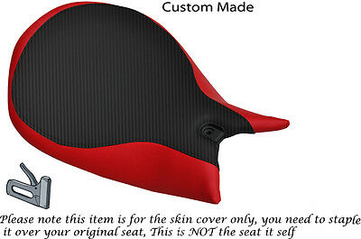 Red & Carbon Design Custom Fits Ducati Panigale 1199 Rider Seat Cover Only • 73.21£