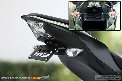 Fit 17-19 Kawasaki Z900 Complete Fender Eliminator Tidy Tail W/ LED Plate Light • 61.37£