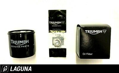Genuine Triumph Motorcycles Oil Filter & Sump Washer - T1218001 / T3558989 • 12.60£