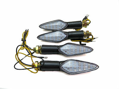 Led Sequential Wave Full Set 4 Indicators For Honda CBR 600 RR HANNspree 2008 • 24.95£