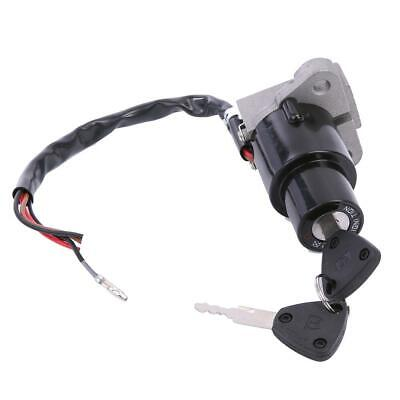 Motorcycle Ignition Switch Lock Assembly With 2 Keys For Yamaha DT 125R TZR250 • 11.99£