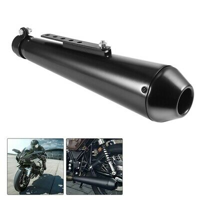 Universal Motorbike Motorcycle Exhaust Muffler Pipe Removable Silencer • 16.99£