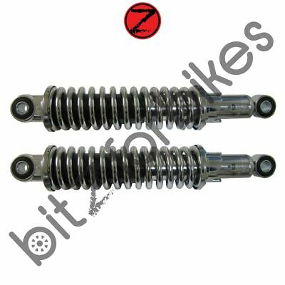 Shock Absorbers Chrome For Suzuki OR 50 2T A/C 1979-1980 • 53.99£