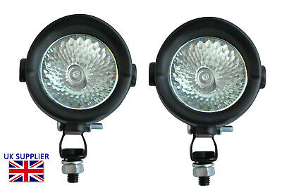 Driving Lights For Adventure Motorcycle Small Easy Fit 12V 35W PAIR • 29.39£