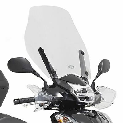 Kappa Clear High Scooter Windshield Screen 51.5cm For Honda SH 300i ABS 15-20 • 41.95£