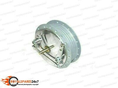 Twin Leading Shoe Royal Enfield Bullet 7  Front Brake Drum Hub Assembly 143967 • 59.99£