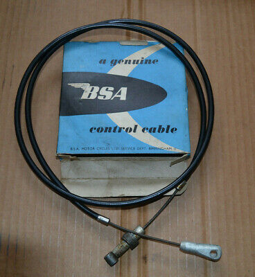BSA A50 A65 US Models Front Brake Cable, Genuine BSA New Old Stock, 60-0858 • 18£