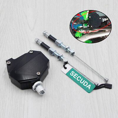 HQ CNC Black Stunt Clutch Pull Cable Lever Easy System For Universal Motorcycle • 17.12£