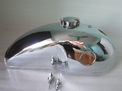 New Benelli Mojave Cafe Racer Chrome Petrol Tank With Monza Cap And Tap • 240£
