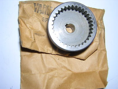 Yamaha TZ250 '81-'87 Water Pump Impellor Gear. Gen.Yam. 5F7-12459-00 New (ba1) • 34.99£