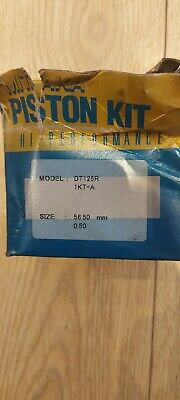 Yamaha DT125 R All Models  Mitaka Piston Kit - 56.50mm 0.50 New Old Stock  • 39£
